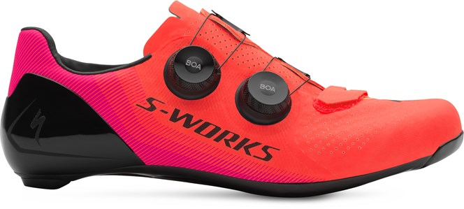 Specialized S-Works 7 Road Shoe Acid Lava Acid Purple