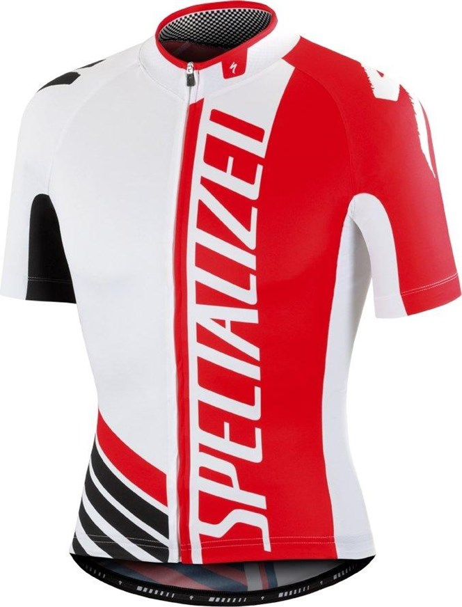 Specialized Pro Racing SS Jersey White/Red/Black